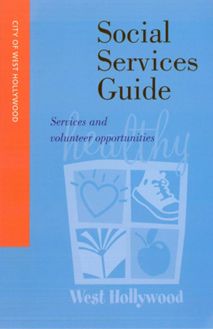 SOCIAL SERVICES GUIDE (Cover)