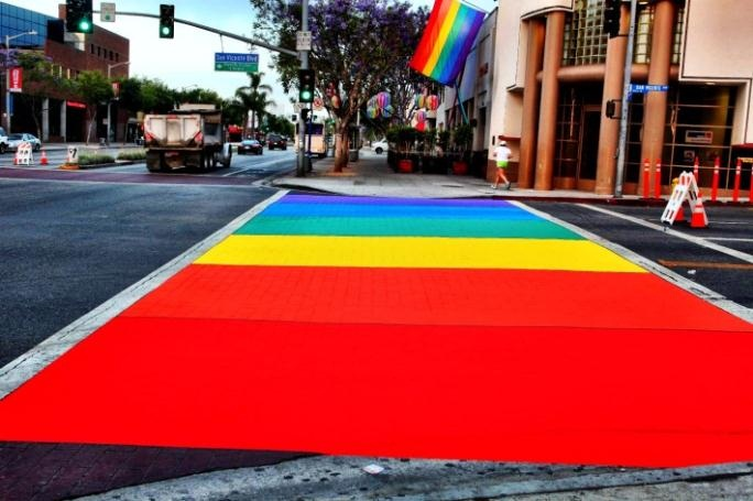 rainbowcrosswalk