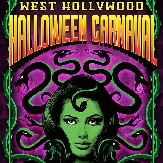 City of West Hollywood's Annual Halloween Carnaval Will Take Place on Friday, October 31