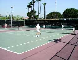 Plummer Park Tennis Courts