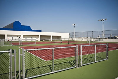 West Hollywood Park Tennis Courts
