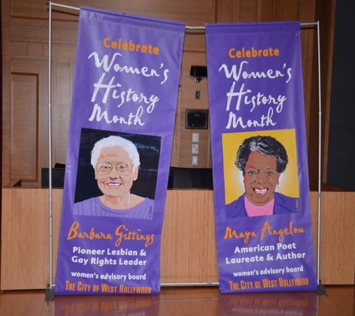 West Hollywood Celebrates National Women's History Month