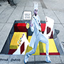 West Hollywood Paints a Colorful Path to Pedestrian Safety with 3D Sidewalk Illustrations