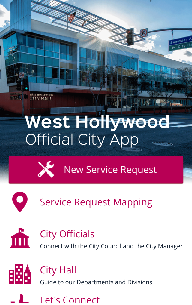 City Announces to Smartphone Users:  'Yes, We Have an App for That!'