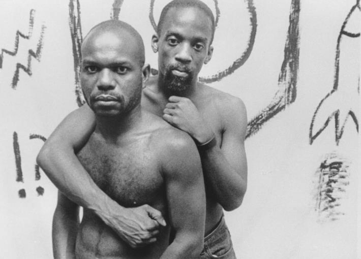 6-6 (Tongues Untied) Production still from Marlon Riggs - Tongues Untied - 1989 - video - image (hi-rez)
