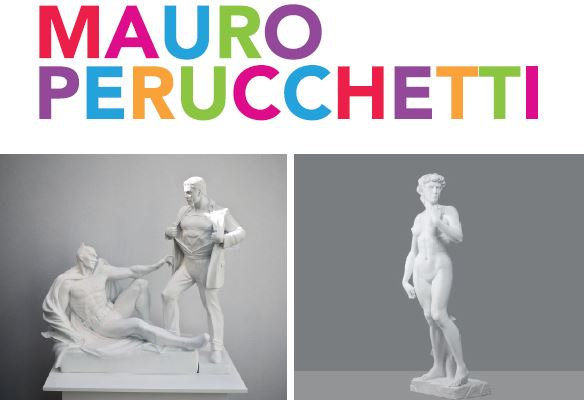 City Installs Pair of Michelangelo-Inspired Works by Artist Mauro Perucchetti