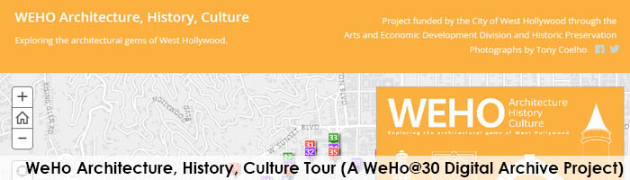 WeHo Architecture Tour