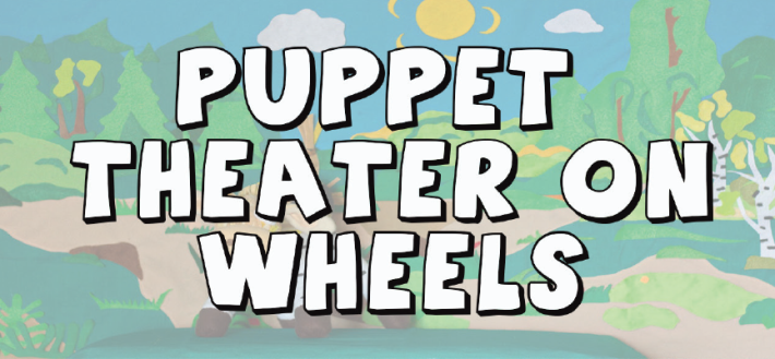 Puppet Theatre on Wheels Banner