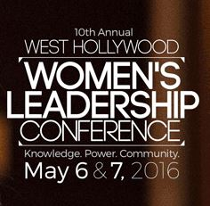 City Presents the 10th Annual Women's Leadership Conference on May 6 and 7