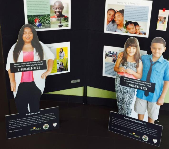 City Recognizes National Foster Care Month in May with 'Heart Gallery LA' Display