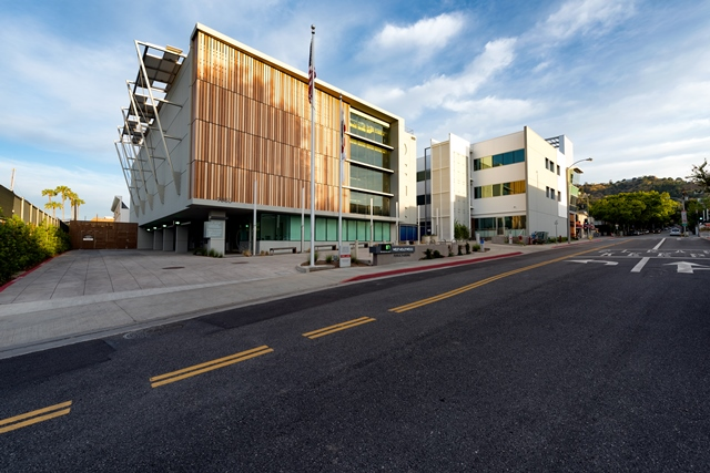 West Hollywood Automated Garage and Communtiy Plaza (2)