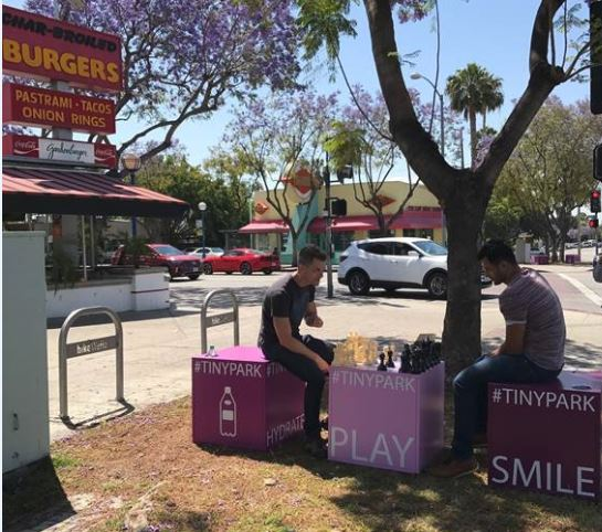 City Thinks Outside the Box with Two New 'TinyPark' Public Spaces