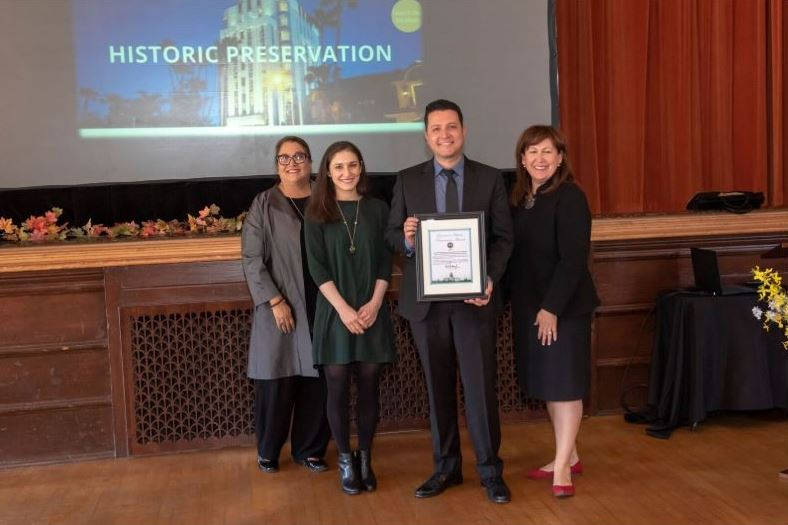 City Receives 2018 Governor's Historic Preservation Award