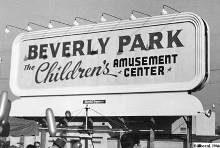City Installs New Exhibit: Remembering Beverly Park