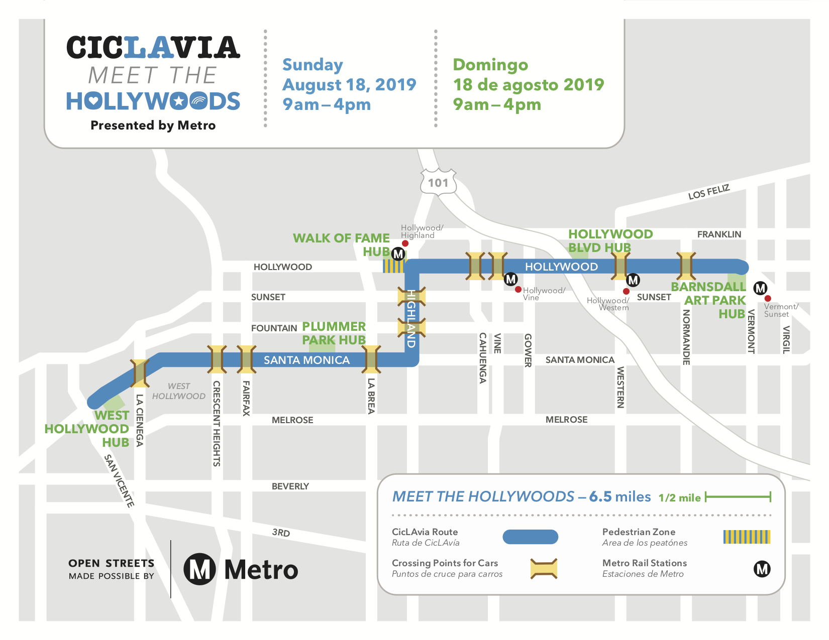 ciclavia_081819_hollywood_map_5