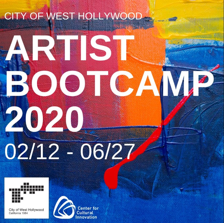 City and Center for Cultural Innovation Open Applications for Artist Bootcamp 2020