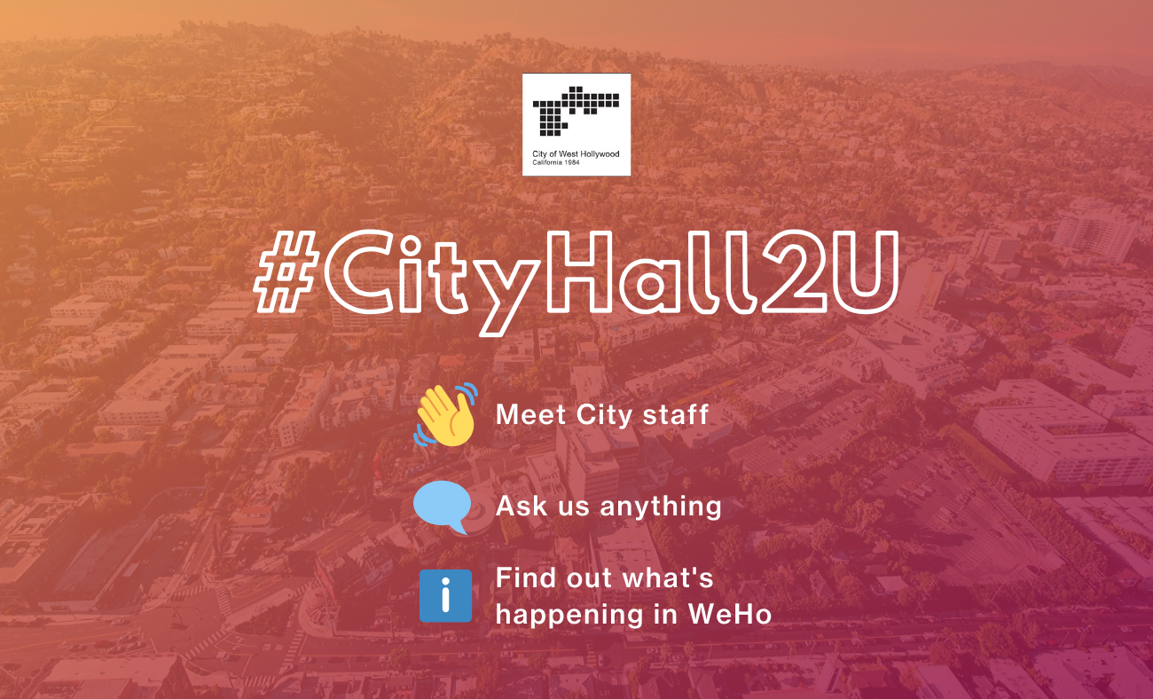 City Launches Quarterly City Hall 'Pop-Up' Community Meetups with City Staff