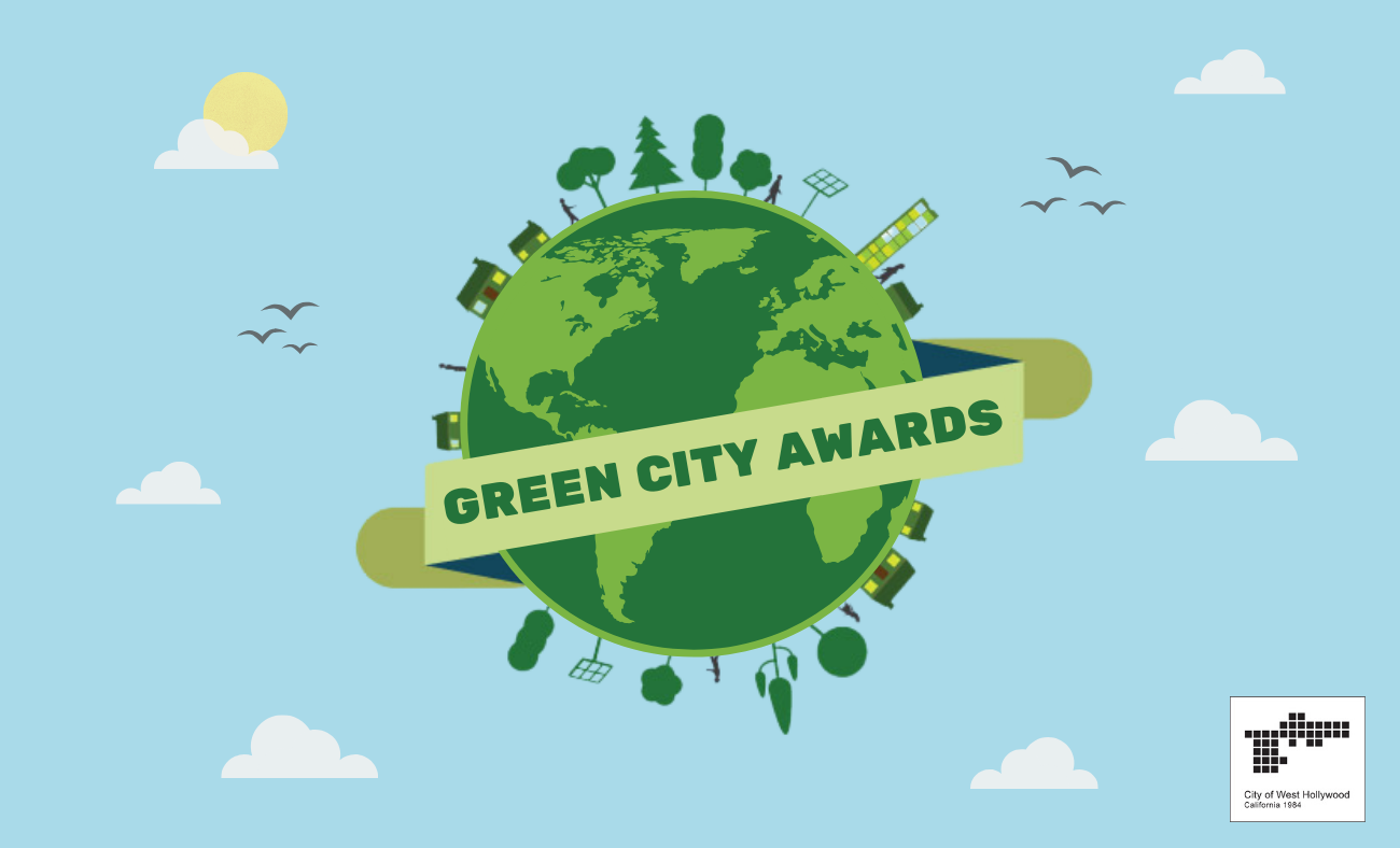 City to Debut Inaugural 'Green City Awards' Recognizing Outstanding Leadership of Environmental Sustainability Projects