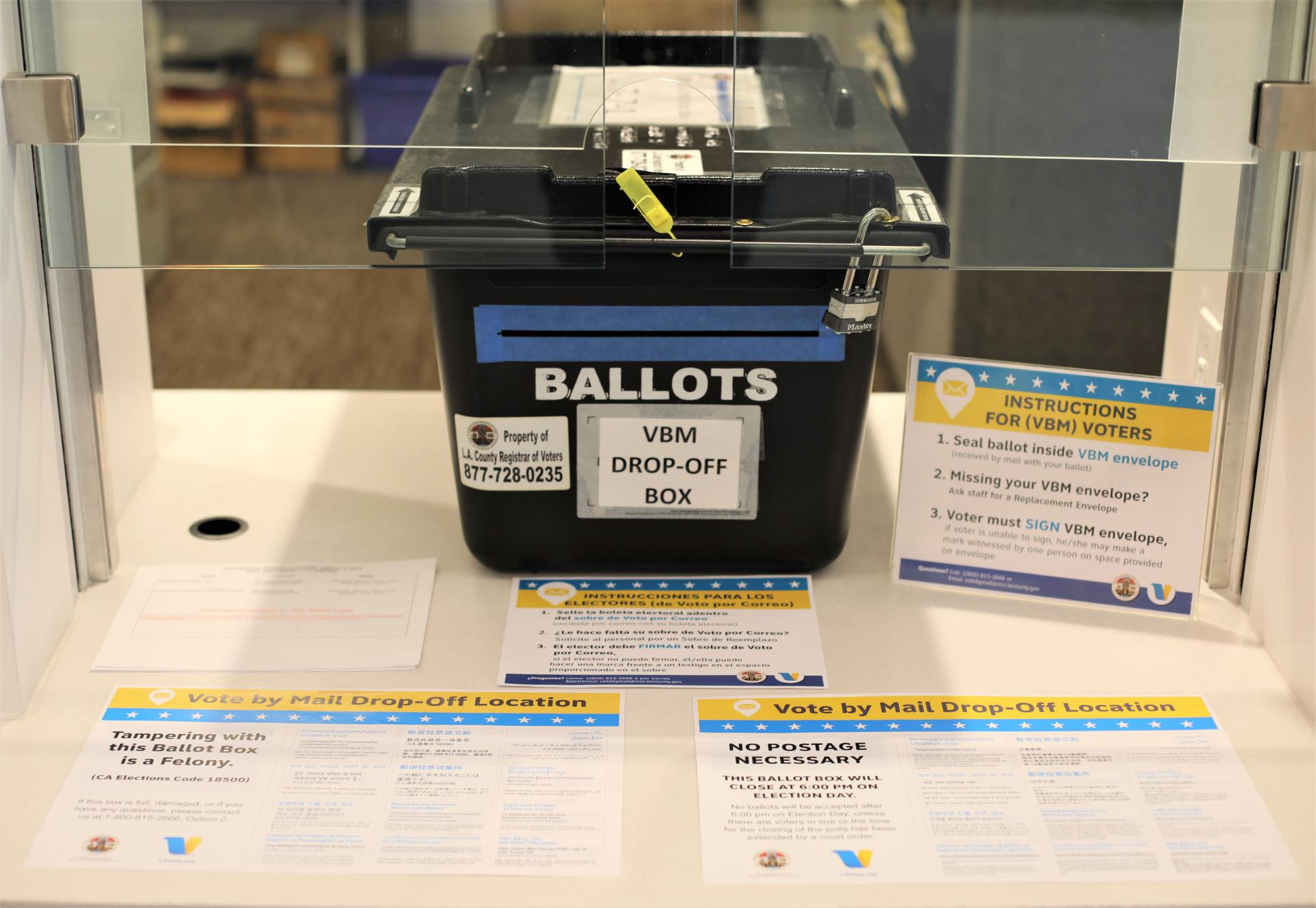 City Partners with Los Angeles County Registrar-Recorder/County Clerk to Provide Vote-by-Mail Ballot...
