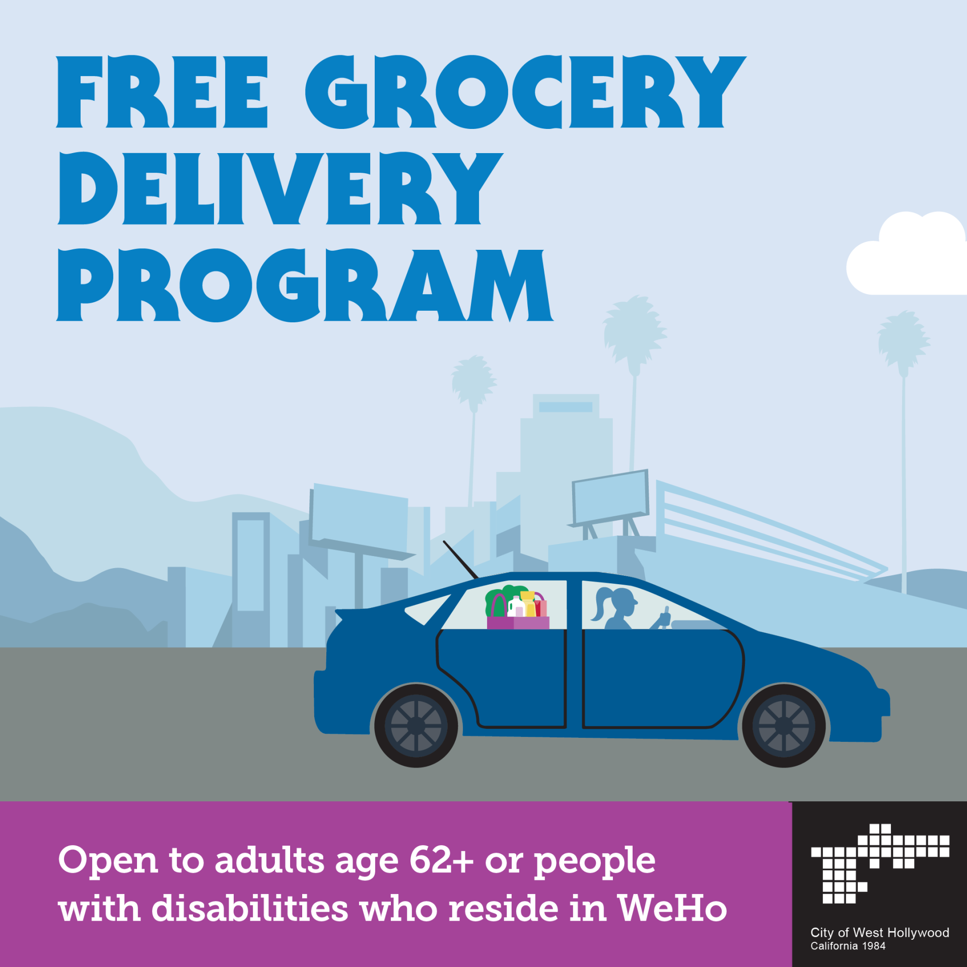 Grocery Delivery Program - COVID19