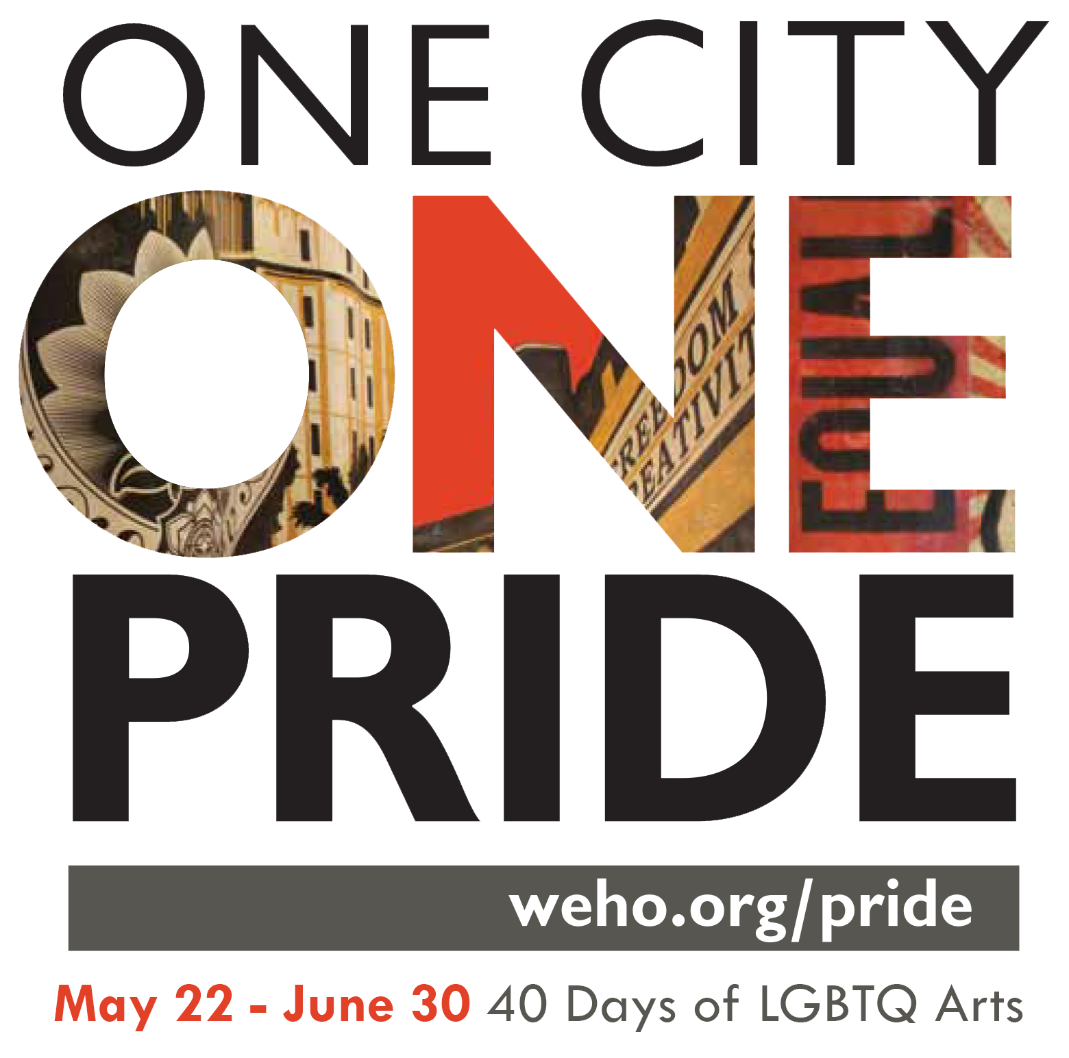 City's 'One City One Pride' LGBTQ Arts Festival Features a 'Virtual Platform' for Arts and Cultural ...