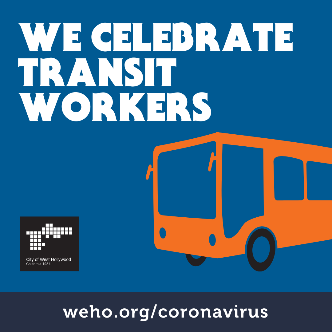 We Celebrate Transit Workers