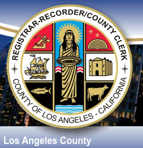 la county registrar logo