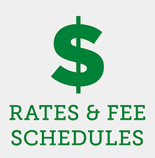 rates&feeschedule