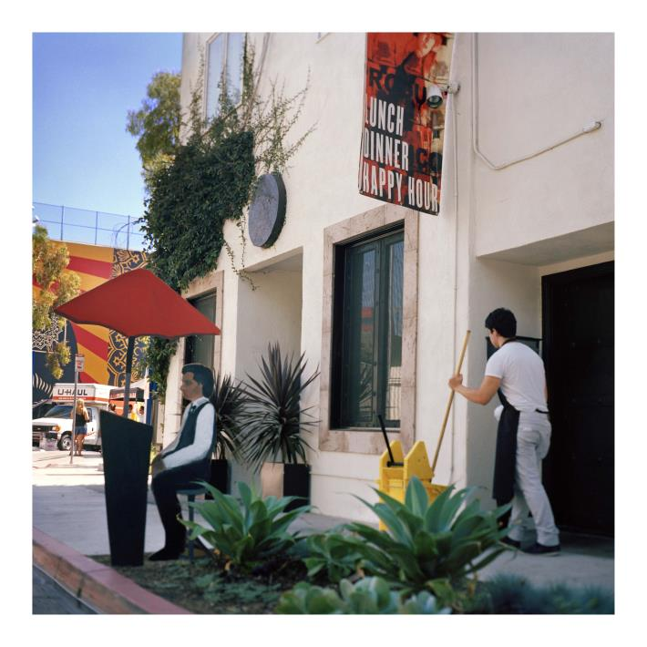 (c) 2012 David Feldman, Valet, El Tovar Place, West Hollywood