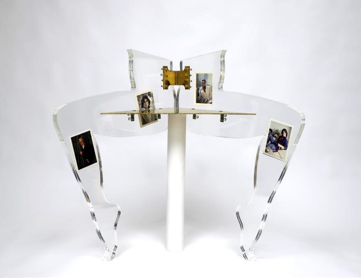 Anthea Hamilton, Leg Chair (John Travolta), 2010
