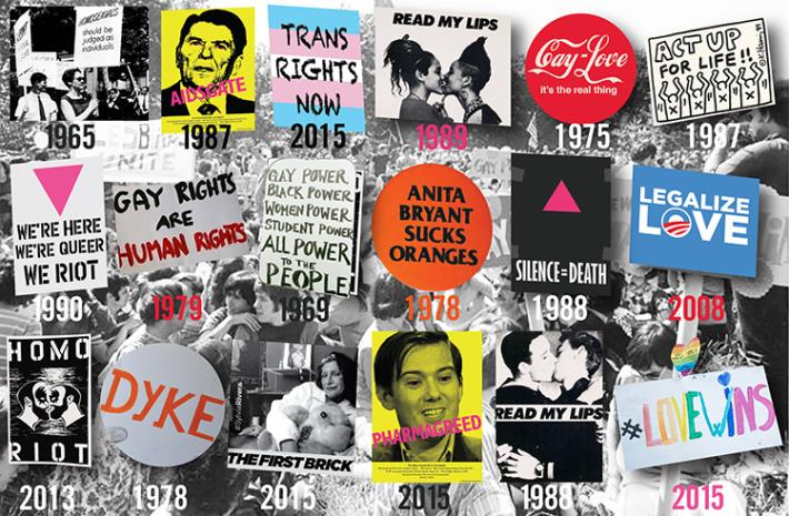 June 12 - Queer Signs of the Times - Historic Signs from 1965-2016 - Images - Artist Ruben Esparza