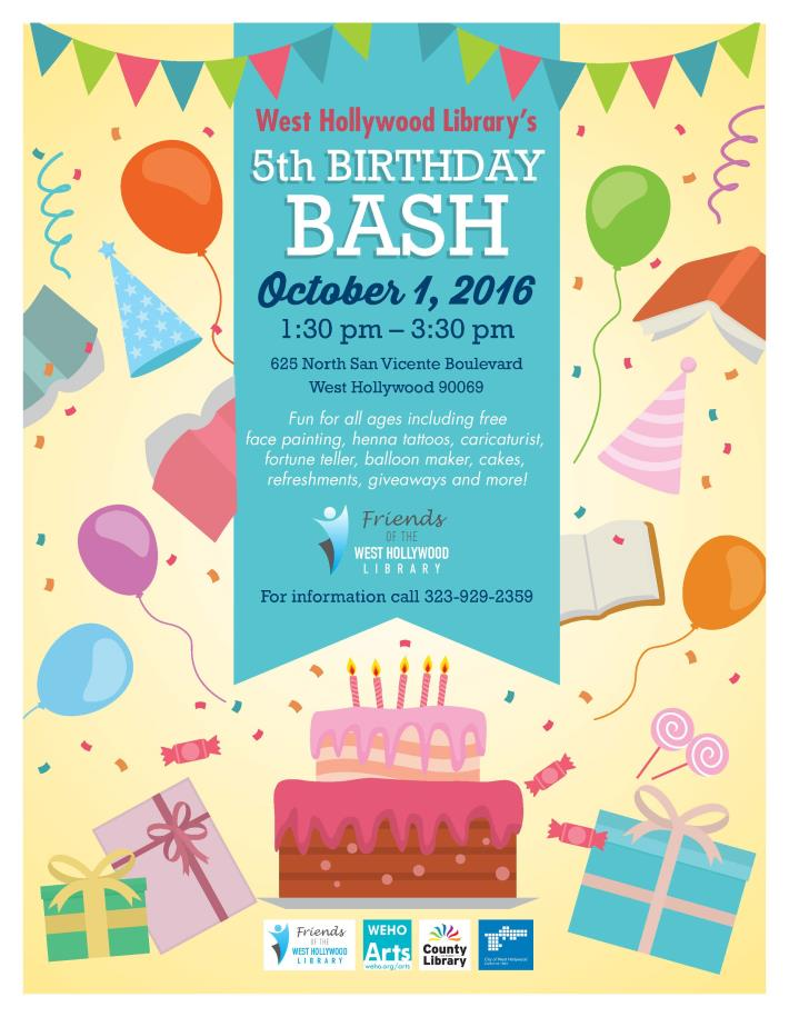 Library Birthday Bash