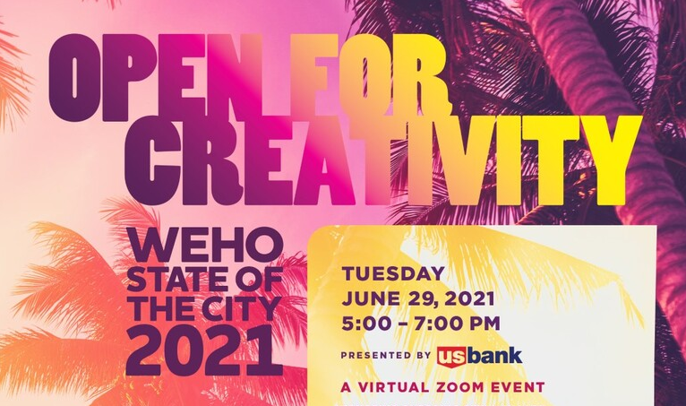 Open for Creativity - State of the City 2021