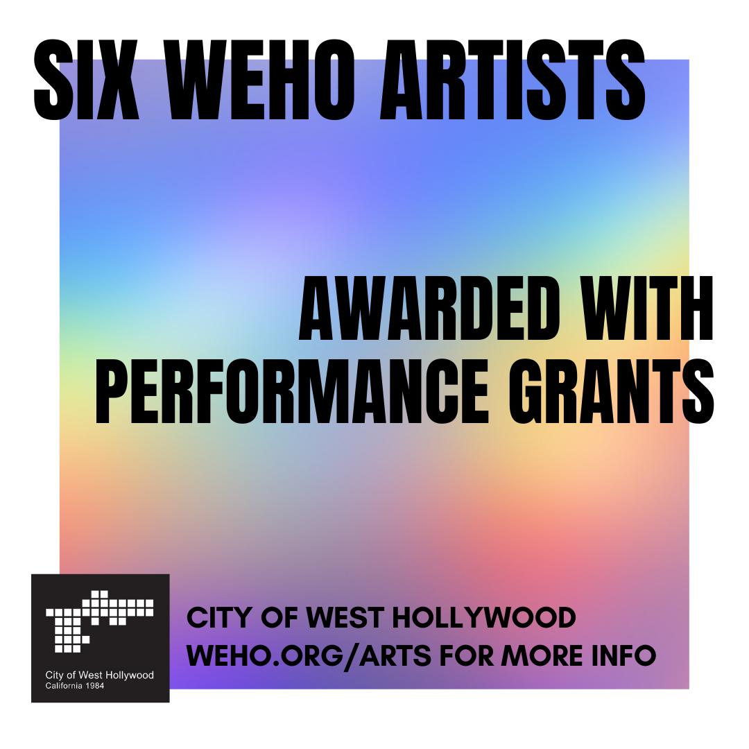 Artist Performance Grantees - 2021